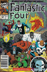 Fantastic Four (1961-1996) #349 Variant A: Newsstand Edition