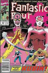 Fantastic Four (1961-1996) #351 Variant A: Newsstand Edition