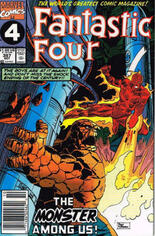 Fantastic Four (1961-1996) #357 Variant A: Newsstand Edition