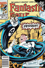 Fantastic Four (1961-1996) #366 Variant A: Newsstand Edition