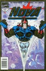 Nova (1994-1995) #1 Variant A: Newsstand Edition; Gold Foil Embossed Cover
