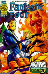 Fantastic Four (1961-1996) #416 Variant A: Newsstand Edition; Wraparound Cover