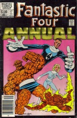 Fantastic Four (1961-1996) #Annual 17 Variant A: Newsstand Edition