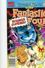 Fantastic Four (1961-1996) #Annual 25 Variant A: Newsstand Edition