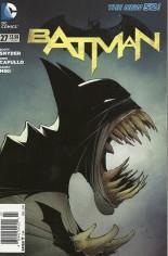 Batman (2011-2016) #27 Variant A: Newsstand Edition
