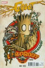 Groot (2015-Present) #3 Variant B: Manga Cover