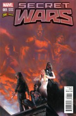 Secret Wars (2015-2016) #1 Variant ZA: ComicXposure Exclusive Variant Cover