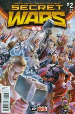 Secret Wars (2015-2016) #2 Variant I: 3rd Printing