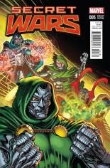 Secret Wars (2015-2016) #5 Variant F: Classic Cover