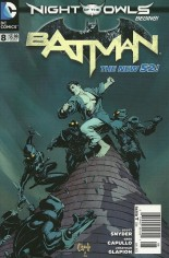 Batman (2011-2016) #8 Variant A: Newsstand Edition