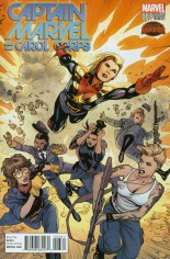 Captain Marvel and The Carol Corps (2015) #3 Variant B: Manga Cover