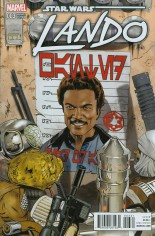 Star Wars: Lando (2015-Present) #3 Variant B: Incentive Variant Cover
