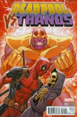 Deadpool vs Thanos #1 Variant B