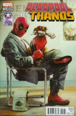 Deadpool vs Thanos #1 Variant D: Retailer Summit 2015 Variant Cover