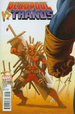 Deadpool vs Thanos #2 Variant B