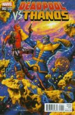 Deadpool vs Thanos #2 Variant C