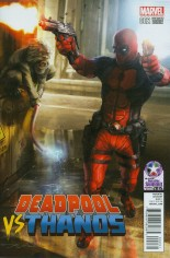 Deadpool vs Thanos #2 Variant D: Retailer Summit 2015 Variant Cover