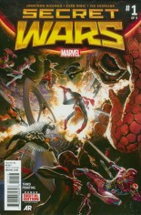 Secret Wars (2015-2016) #1 Variant ZG: 3rd Printing