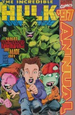 Incredible Hulk (1968-1999) #Annual 1997 Variant A: Newsstand Edition; Wraparound Cover