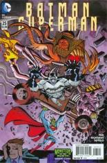 Batman/Superman (2013-2016) #25 Variant B: DC Monsters II Cover