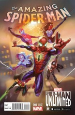 Amazing Spider-Man (2015-2017) #1 Variant E: Incentive Spider-Man Unlimited Game Variant Cover