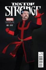 Doctor Strange (2015-2017) #1 Variant H: Incentive Cosplay Variant Cover
