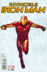 Invincible Iron Man (2015-2016) #1 Variant I: Variant Cover