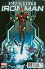 Invincible Iron Man (2015-2016) #1 Variant K: Variant Cover