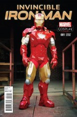 Invincible Iron Man (2015-2016) #1 Variant N: Incentive Cosplay Variant Cover