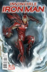 Invincible Iron Man (2015-2016) #1 Variant O: Incentive Variant Cover