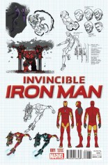 Invincible Iron Man (2015-2016) #1 Variant Q: Incentive Design Variant Cover