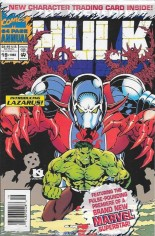 Incredible Hulk (1968-1999) #Annual 19 Variant B: Newsstand Edition; Polybagged w/ Card