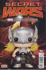 Secret Wars (2015-2016) #1 Variant ZH: Marvel Collector Corps Exclusive