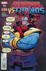 Deadpool vs Thanos #3 Variant A