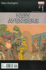 New Avengers (2015-Present) #1 Variant B: Marvel Hip-Hop Variant Cover