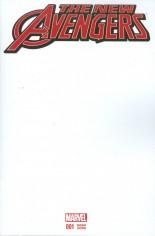 New Avengers (2015-Present) #1 Variant C: Blank Cover