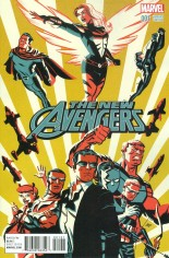 New Avengers (2015-Present) #1 Variant D: Incentive Variant Cover
