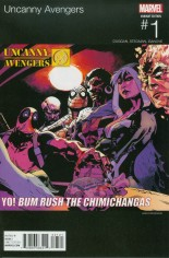Uncanny Avengers (2015-Present) #1 Variant B: Marvel Hip-Hop Variant Cover