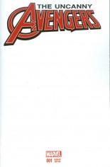 Uncanny Avengers (2015-Present) #1 Variant C: Blank Cover