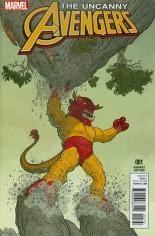 Uncanny Avengers (2015-Present) #1 Variant D: Kirby Monster Variant Cover