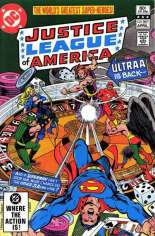 Justice League of America (1960-1987) #201 Variant A: Direct Edition