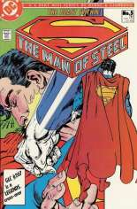 Man of Steel (1986) #5 Variant B: Direct Edition