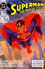Superman: The Man of Steel (1991-2003) #1 Variant A
