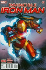Invincible Iron Man (2015-2016) #2 Variant A