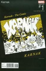Karnak (2015-2017) #1 Variant C: Marvel Hip-Hop Variant Cover