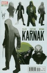 Karnak (2015-2017) #1 Variant E: Incentive Design Variant Cover