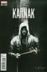 Karnak (2015-2017) #1 Variant F: Incentive Variant Cover