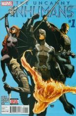 Uncanny Inhumans (2015-Present) #1 Variant A