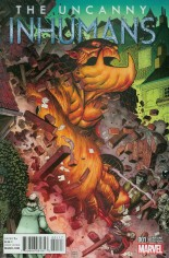 Uncanny Inhumans (2015-Present) #1 Variant E: Kirby Monster Variant Cover
