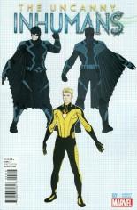 Uncanny Inhumans (2015-Present) #1 Variant G: Incentive Design Variant Cover